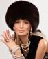 Платье MOSCHINO CHEP AND CHIC Меховая шапка BLUGIRL BLUMARINE Бусы, серьги...