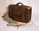 Самодельная сумка из кожи - часть 8 Ручка - YouTube