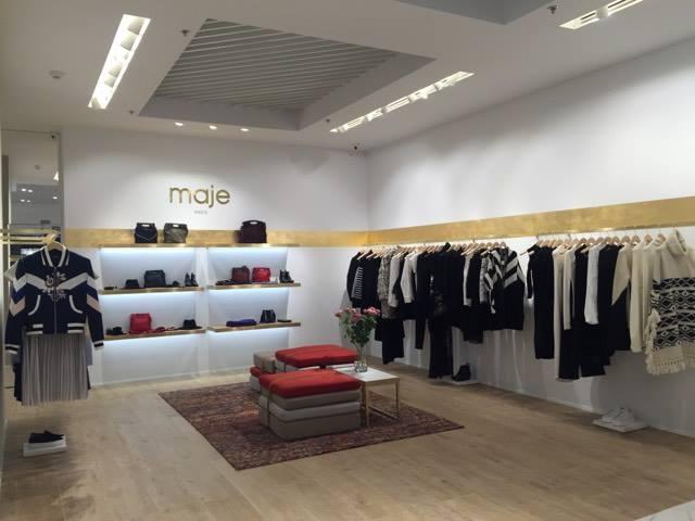 Французский бренд Maje открыл второй магазин в Киеве - РАСПРОДАЖА ... 96fcec5319e8f