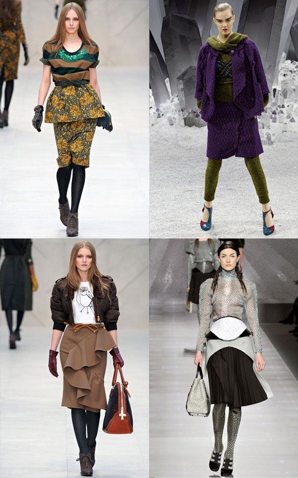 Модный фасон юбок строгого характера